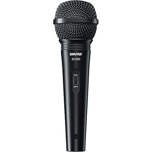 Shure SV-200WA Cardioid Dynamic Microphone with Cable