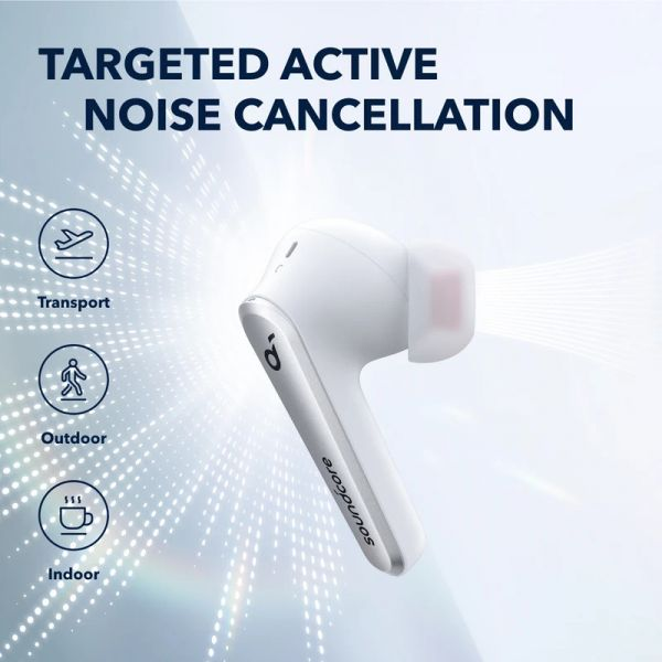 Soundcore by Anker Liberty Air 2 Pro Earbuds Titanium White