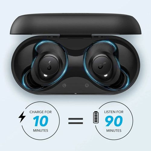 Soundcore by Anker Life Dot 2 Earbuds Black