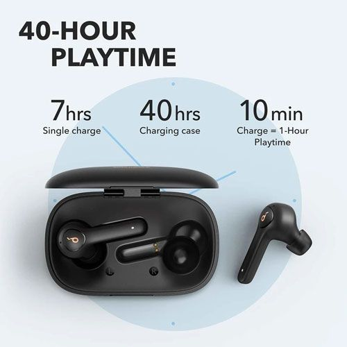 Soundcore by Anker Life P2 Earbuds Black