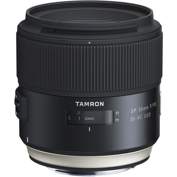 Tamron SP 35mm f/1.8 Di VC USD Lens (Canon EF)