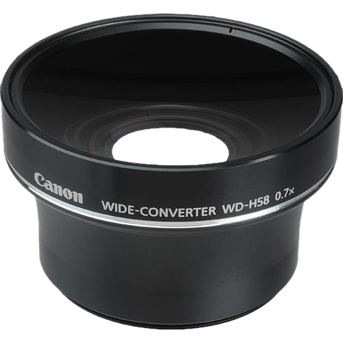 Canon WD-H58W 0.8x Wide Angle Converter Lens (Special Order)