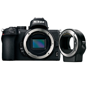 Nikon Z 50 Mirrorless Digital Camera & FTZ Mount Adapter