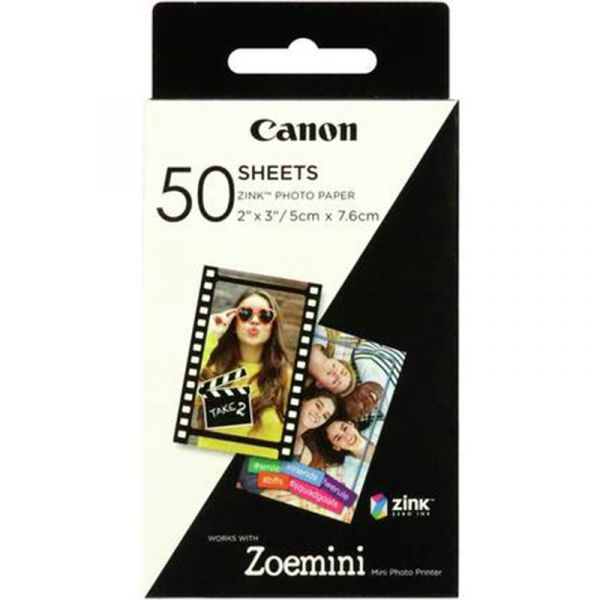 Canon ZoeMini Zink Photo Paper (50 Pack)