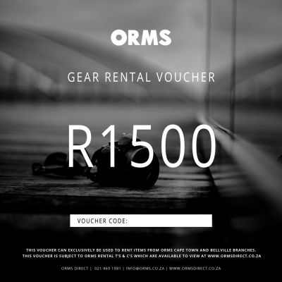Orms Rental Voucher - R1500 (Can Only be Used for Renting Gear with Orms)