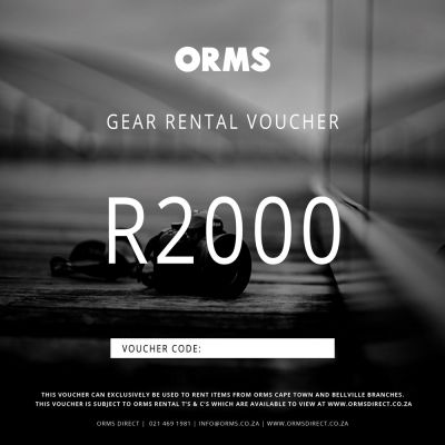 Orms Rental Voucher - R2000 (Can Only be Used for Renting Gear with Orms)