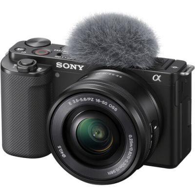 Sony ZV-E10 Mirrorless Camera with 16-50mm Lens