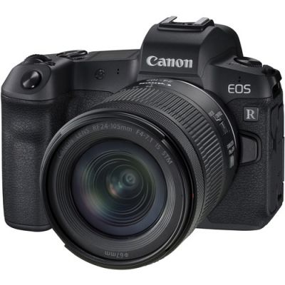 Canon EOS R Full Frame Mirrorless Camera with RF 24-105mm f/4-7.1 IS STM Lens (When Bought With Promotion)