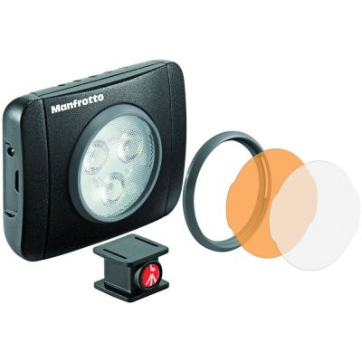 Manfrotto Lumimuse 3 On-Camera LED Light (Black) (Backordered)