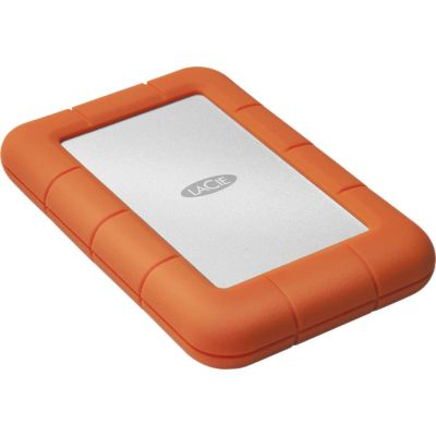 LaCie Rugged 4TB Mini External Hard Drive - USB3.0