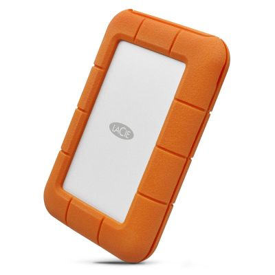 LaCie 2TB USB 3.0 Type-C Rugged Secure Portable Hard Drive