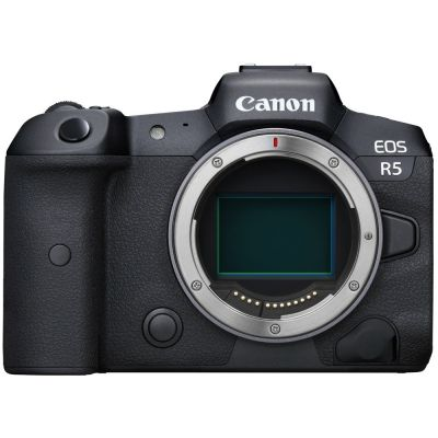 Canon EOS R5 Mirrorless Camera Body (When Bought With Promotion)