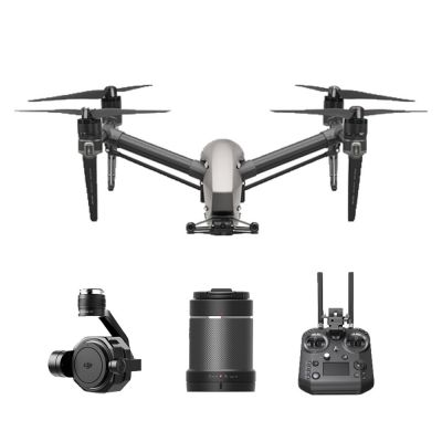 DJI Inspire 2 Advanced Kit with Zenmuse X7 Gimbal with 16mm/2.8 ASPH ND Lens and Cendence Remote Controller