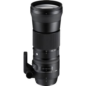 Sigma 150-600mm f/5-6.3 DG OS HSM Contemporary Lens (Canon EF)