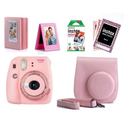 Fujifilm Instax Mini 9 Value Bundle (Pink)