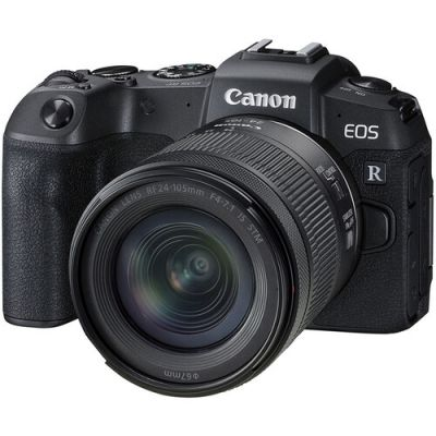 Canon EOS RP Mirrorless Digital Camera with RF 24-105mm f/4-7.1 IS STM Lens (When Bought With Promotion)