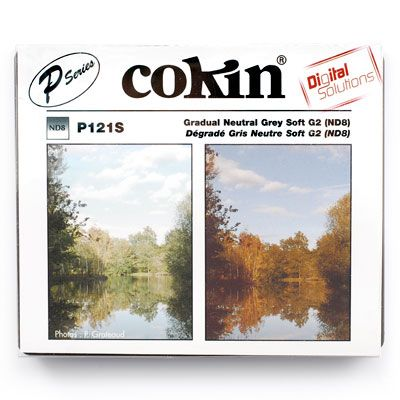 Cokin P121S Graduated Grey G2 Neutral Density Filter (ND8)