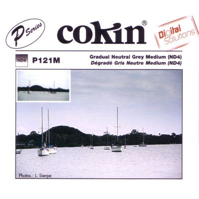 Cokin P121M Graduated Grey G2 Neutral Density Filter (ND4)