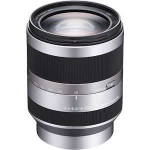 Sony E 18-200mm f/3.5-6.3 OSS Lens (E Mount)