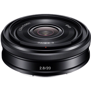 Sony E 20mm f/2.8 Lens (E Mount)