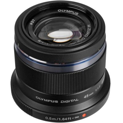 Olympus M.Zuiko Digital 45mm f/1.8 Lens (MFT) (Online Only. ETA 3-5 Days)