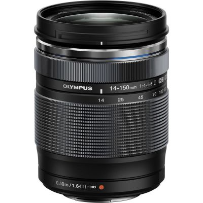 Olympus M.Zuiko Digital ED 14-150mm f/4-5.6 II Lens (MFT) (Online Only. ETA 3-5 Days)