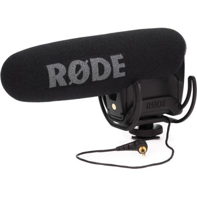 Rode VideoMic Pro with Rycote Lyre Suspension System