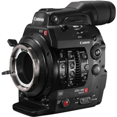 Canon EOS C300 Mark II Cinema Camera - PL Mount