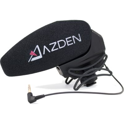 Azden SMX-30 Powered Stereo/Mono Switchable On-Camera Shotgun Microphone