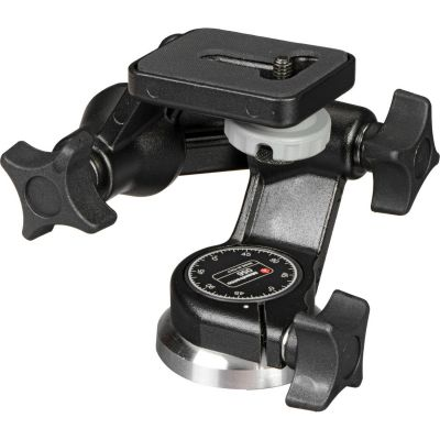 "Manfrotto 056 3-Way, Pan-and-Tilt Head with 1/4""-20 Mount"