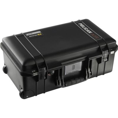Pelican 1535 Air Wheeled Case with Pick-N-Pluck Foam (Black)