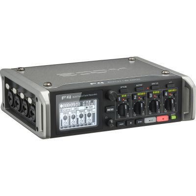 Zoom F4 6-Input / 8-Track Multi-Track Field Recorder (Discontinued)