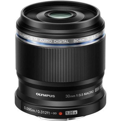 Olympus M.Zuiko Digital 30mm f/3.5 Macro Lens (MFT) (Online Only. ETA 3-5 Days)