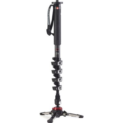 Manfrotto MVMXPROC5 Carbon Fiber 5-Section Video Monopod with Fluidtech Base