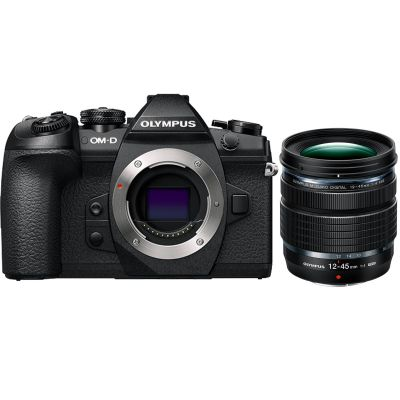 Olympus OM-D E-M1 Mark II Mirrorless Digital Camera with 12-45mm f/4 Lens (Online Only. ETA 3-5 Days)