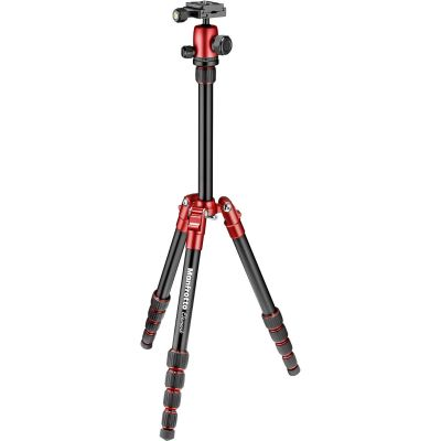 Manfrotto Element Small Aluminum Traveller Tripod (Red)
