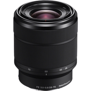 Sony FE 28-70mm f/3.5-5.6 OSS Lens (E Mount)