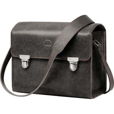 Leica Leather System Case (Small, Stone Grey)