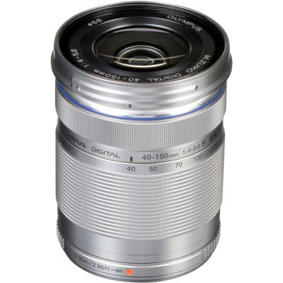 Olympus M.Zuiko Digital  ED 40-150mm f/4.0-5.6 R Lens (Silver) (Online Only. ETA 3-5 Days)