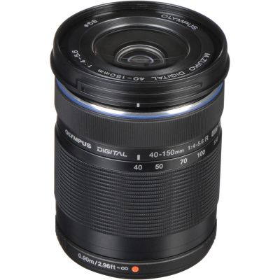 Olympus M.Zuiko Digital  ED 40-150mm f/4.0-5.6 R Lens (Black) (Online Only. ETA 3-5 Days)