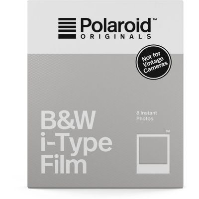 Polaroid Originals Black & White i-Type Instant Film (8 Exposures) (Online Only: ETA 2-3 Days)