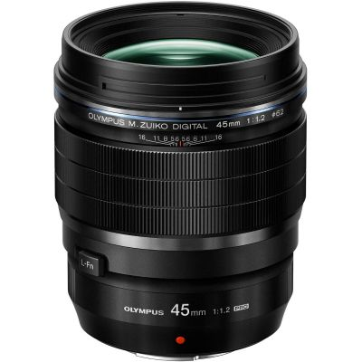 Olympus M.Zuiko Digital ED 45mm f/1.2 Pro Lens (Online Only. ETA 3-5 Days)