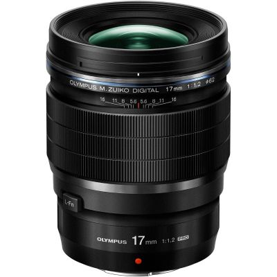 Olympus M.Zuiko Digital ED 17mm f/1.2 Pro Lens (Online Only. ETA 3-5 Days)
