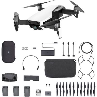 DJI Mavic Air Fly More Combo (Arctic White, Refurbished)
