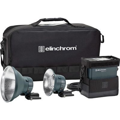 Elinchrom ELB 500 TTL Dual Head To Go Kit