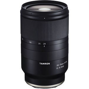 Tamron 28-75mm f/2.8 Di III RXD Lens (Full Frame Sony E Mount)