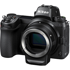 Nikon Z7 Mirrorless Digital Camera with FTZ Adapter