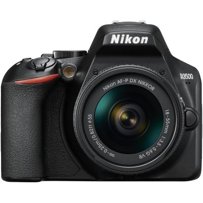 Nikon D3500 DSLR Camera with AF-P DX 18-55mm f/3.5-5.6G VR Lens