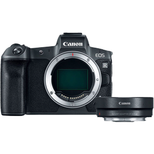 Canon EOS R Full Frame Mirrorless Camera With RF Adaptor