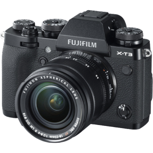 Fujifilm X-T3 Mirrorless Digital Camera with 18-55mm Lens (Black) (R3400 Cash Back with Fujifilm)